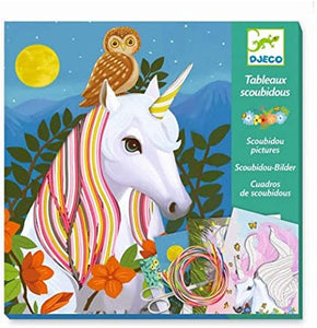 Le Grand Artist Scoubidou Magic Manes Activity Set by Djeco