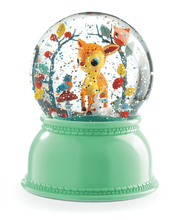 Load image into Gallery viewer, Djeco Snow Globe Night Light, Fawn