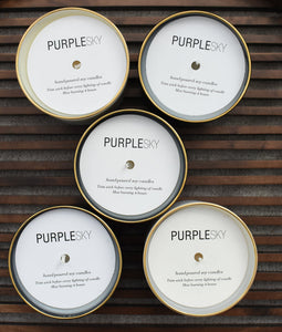 Purple Sky Candles
