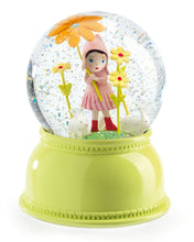 Load image into Gallery viewer, Djeco Sweet Girl Snow Globe Night Light