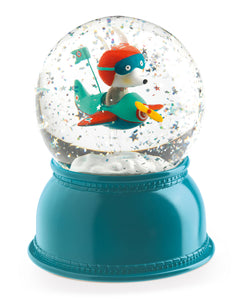 Djeco, Airplane Snow Globe Night Light