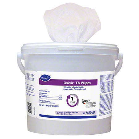 Diversey™ Oxivir® Tb Disinfectant Wipes - 160 ct.