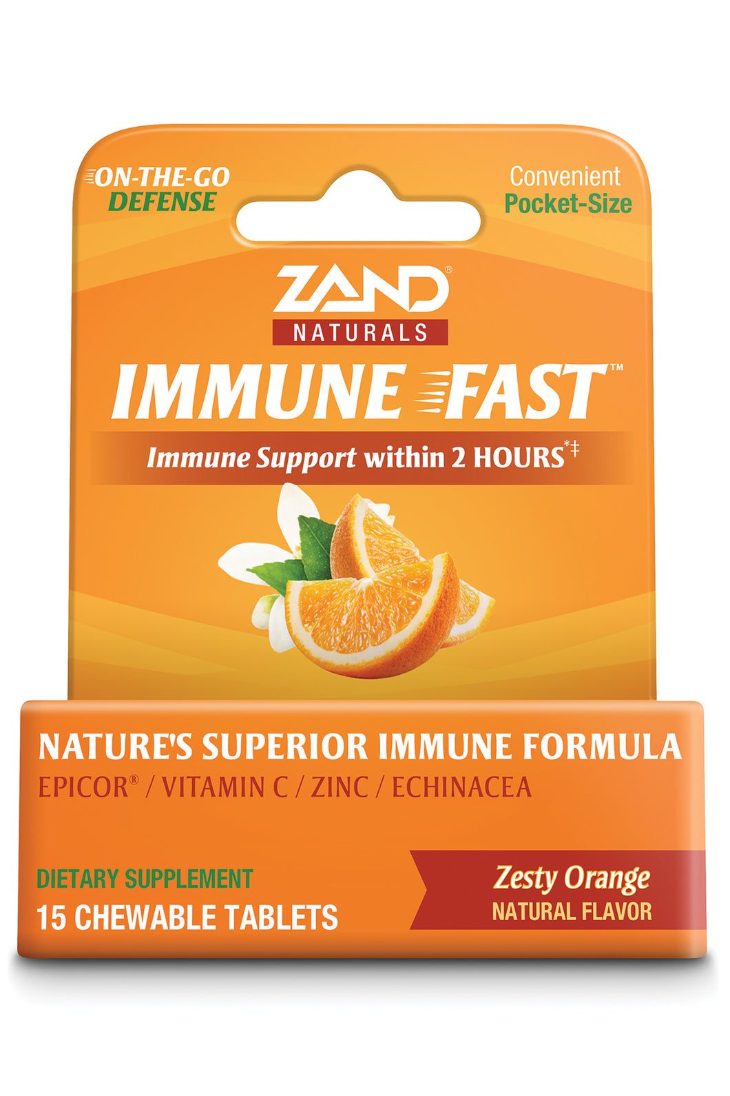 Zand Naturals Immune Fast - Zesty Orange