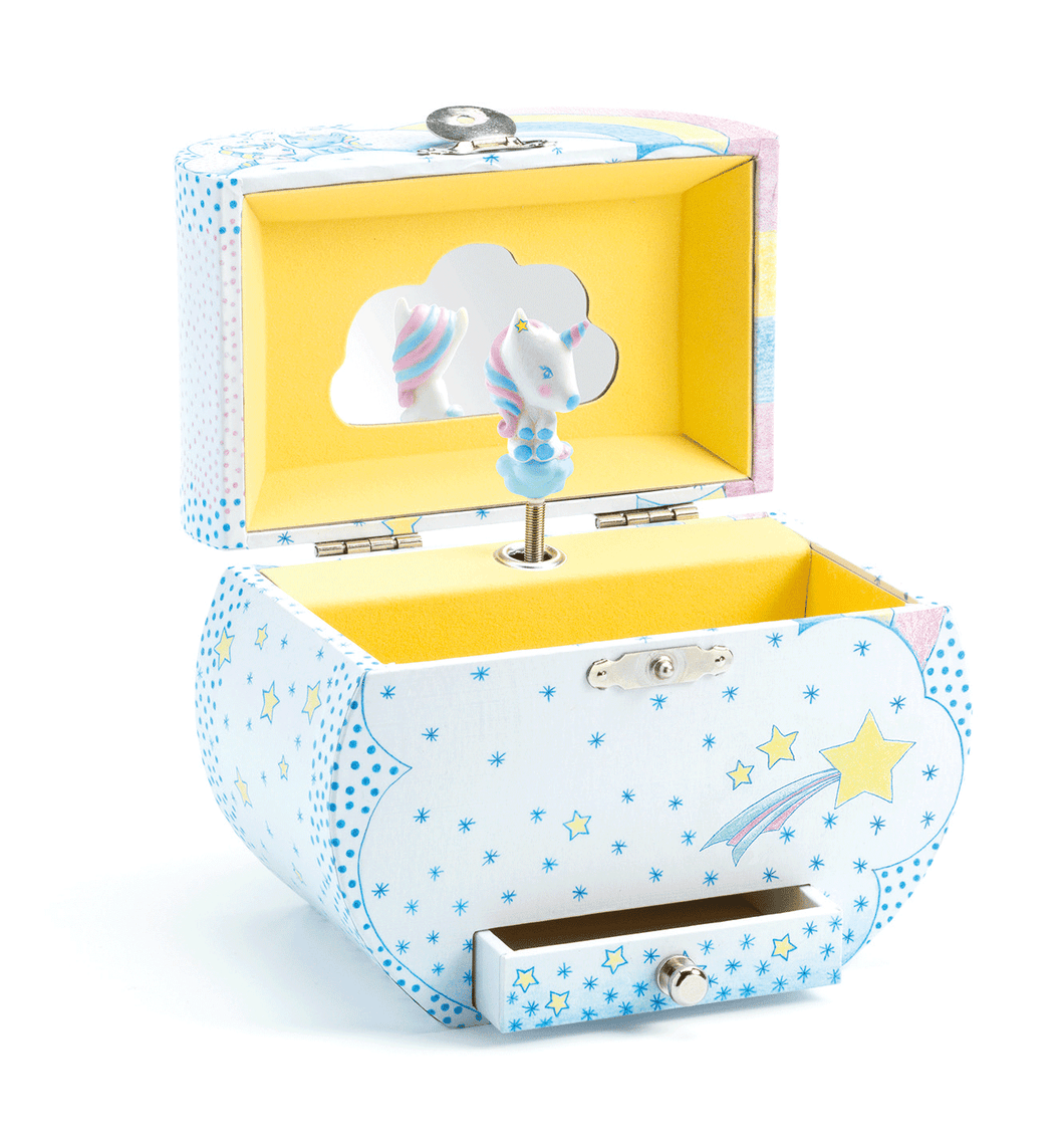 Djeco Music Box - Unicorn Dream