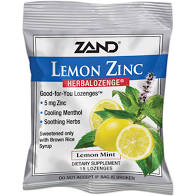 Zand Lemon Zinc Lozenges