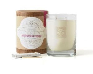 MOROCCAN ROSE LINEA'S LIGHTS CANDLE
