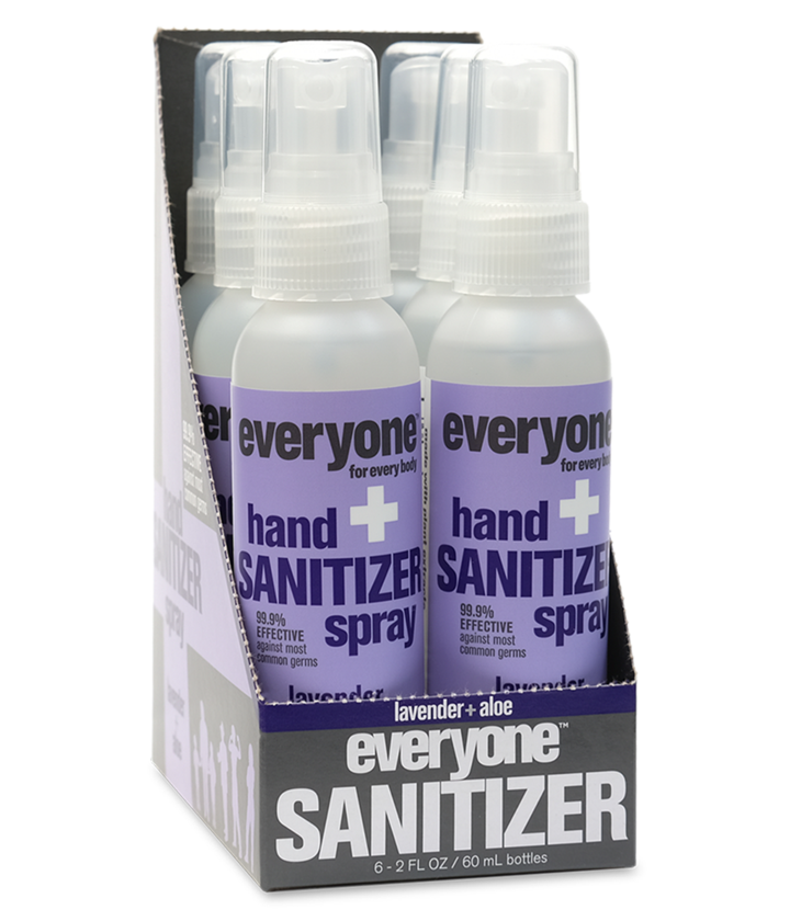 Hand Sanitizer Spray Lavender + Aloe