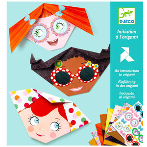 Djeco Origami Kit- Pretty Faces