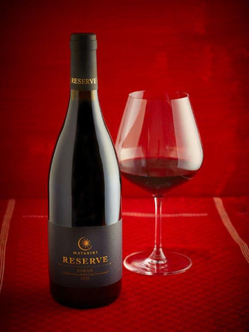 MATARIKI 2010 RESERVE SYRAH - 12 BOTTLE CASE