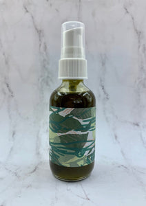 Natural face oil, oil cleanser, green tea cleanser, face oil, natural skincare, small batch skincare