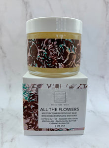 All The Flowers Face Balm 2oz