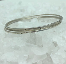 Load image into Gallery viewer, Silver Bangle Stacking Set