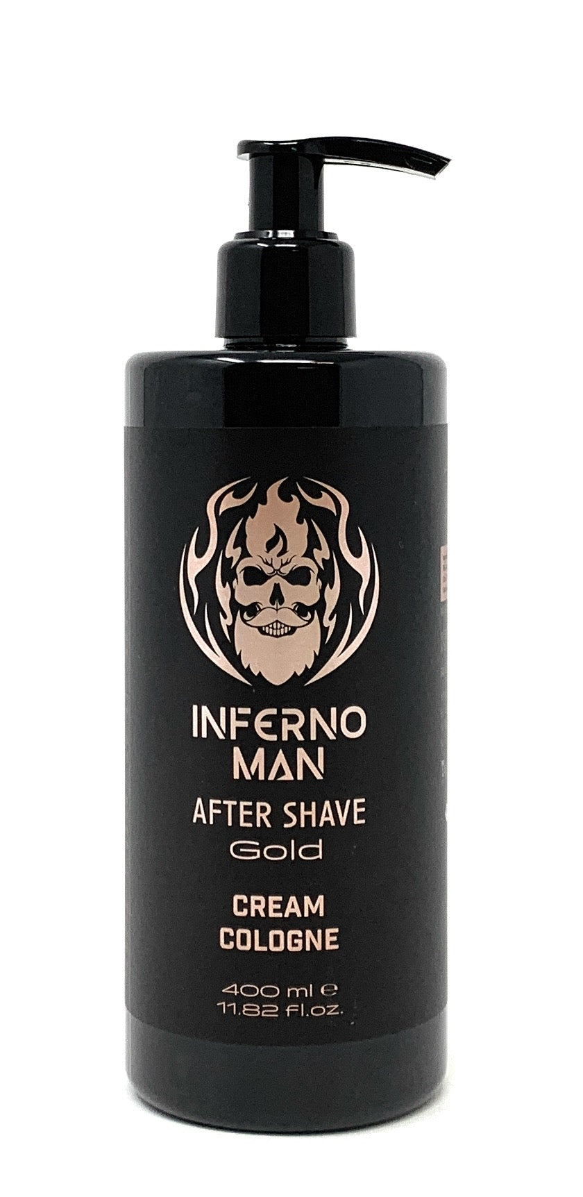Inferno Man After Shave Gold Cream Cologne Invisible 400 ml