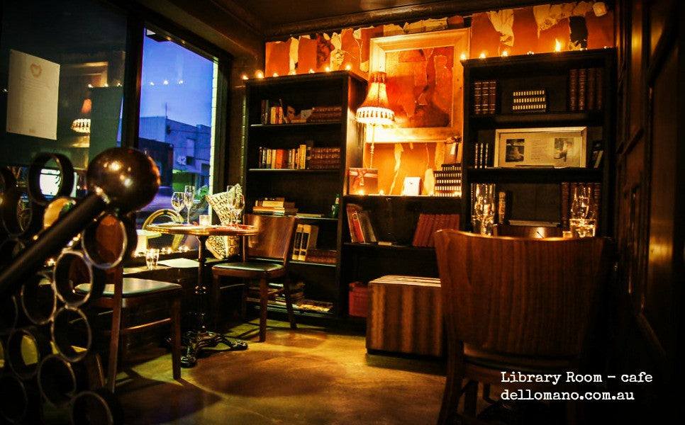library room at cafe