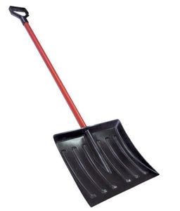 SNOW SHOVEL CAR POLYBLK 1199D