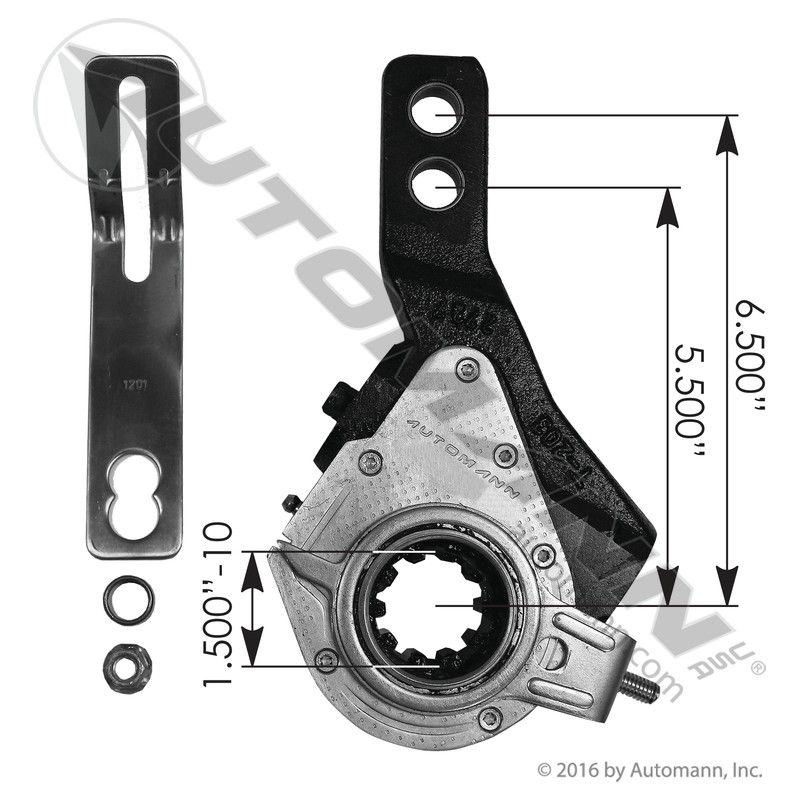 135.1031 HALDEX TYPE SLACK ADJUSTER 5.5-6.5