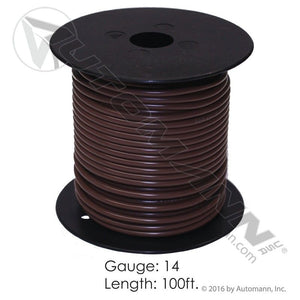 178.2114BN WIRE PRIMARY 14 GA 100FT BROWN