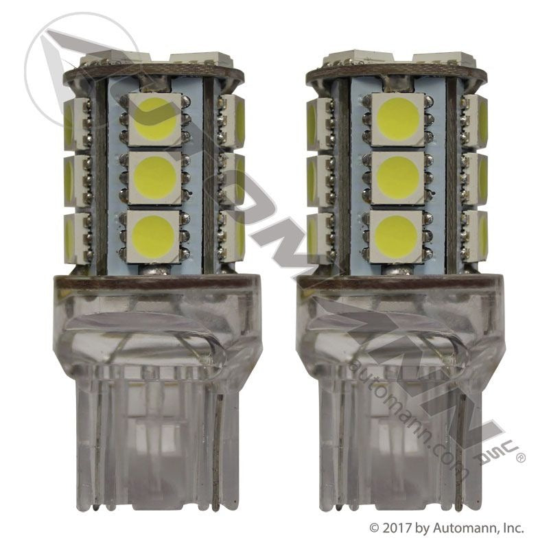 LED BULB 7443 WHITE 2PCS PREMIUM