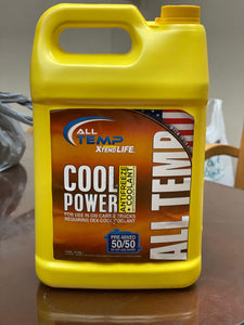 ANTIFREEZE ALL SEASON EXTENDED LIFE 50/50 RED (6/1 GALLON)
