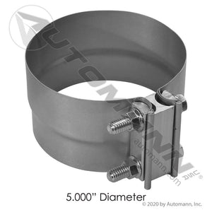 562.U3105A EXHAUST CLAMP PREFORMED 5 INCHES