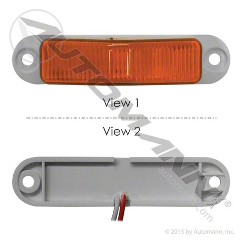 571.LD265A8 MARKER LIGHT LED MINI AMBER