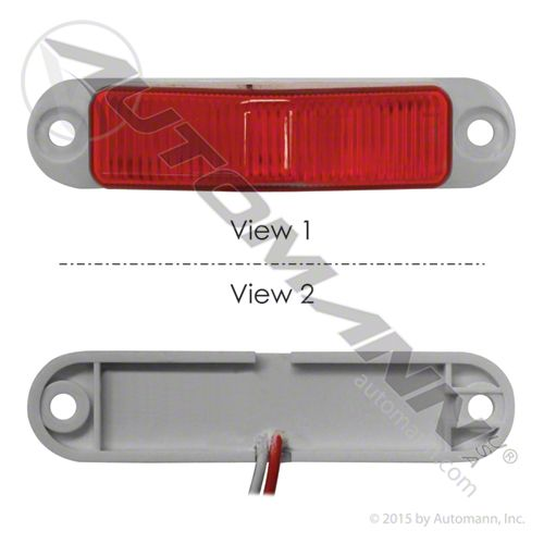 571.LD265R8 MARKER LIGHT LED MINI RED