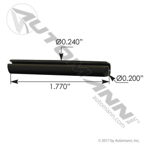 579.1024.5P ROLL PIN FOR SIDE ROLLER