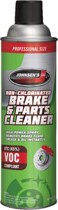 2417 JOHNSEN'S NON CHLORINATED BRAKE & PARTS CLEANER 14 OZ 12/1 CASE
