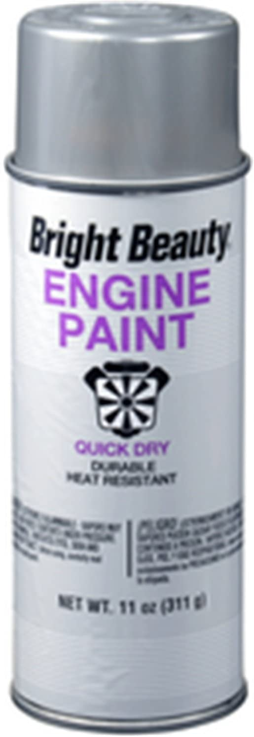 SPRAY PAINT BRIGHT BEAUTY BB415 ENGINE ALUMINUM 11 OZ. 6/1 CASE