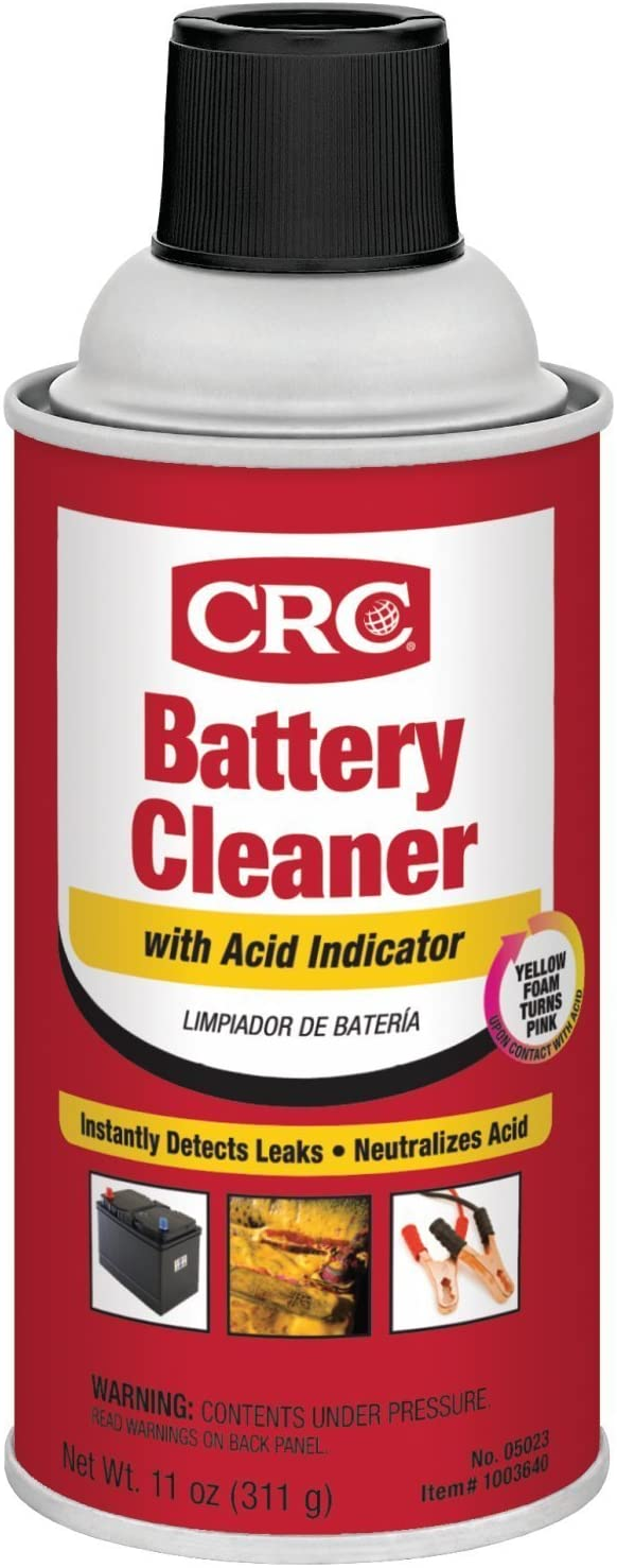 05023 CRC BATTERY CLEANER 11 Oz 12/1 CASE