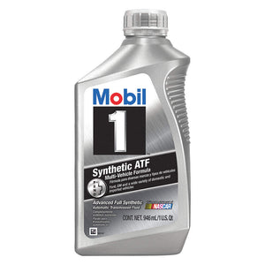 MOBIL 1 SYNTHETIC AUTOMATIC TRANSMISSION FLUID (6 QUARTS/1 CASE)