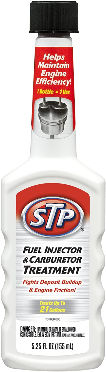 78571 STP FUEL INJECTOR & CARBURETOR CLEANER 5.25 Oz.