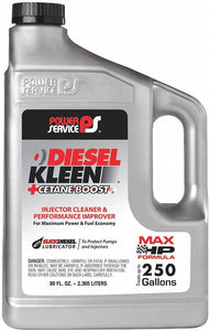 POWER SERVICE 03080-06 DIESEL KLEEN+CETANE BOOST 6/80 Oz