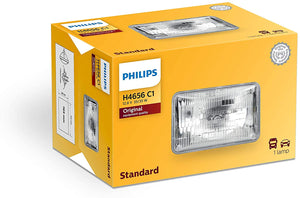 H4656C1 PHILIPS BULBS LOW SQ HALOGEN BEAM