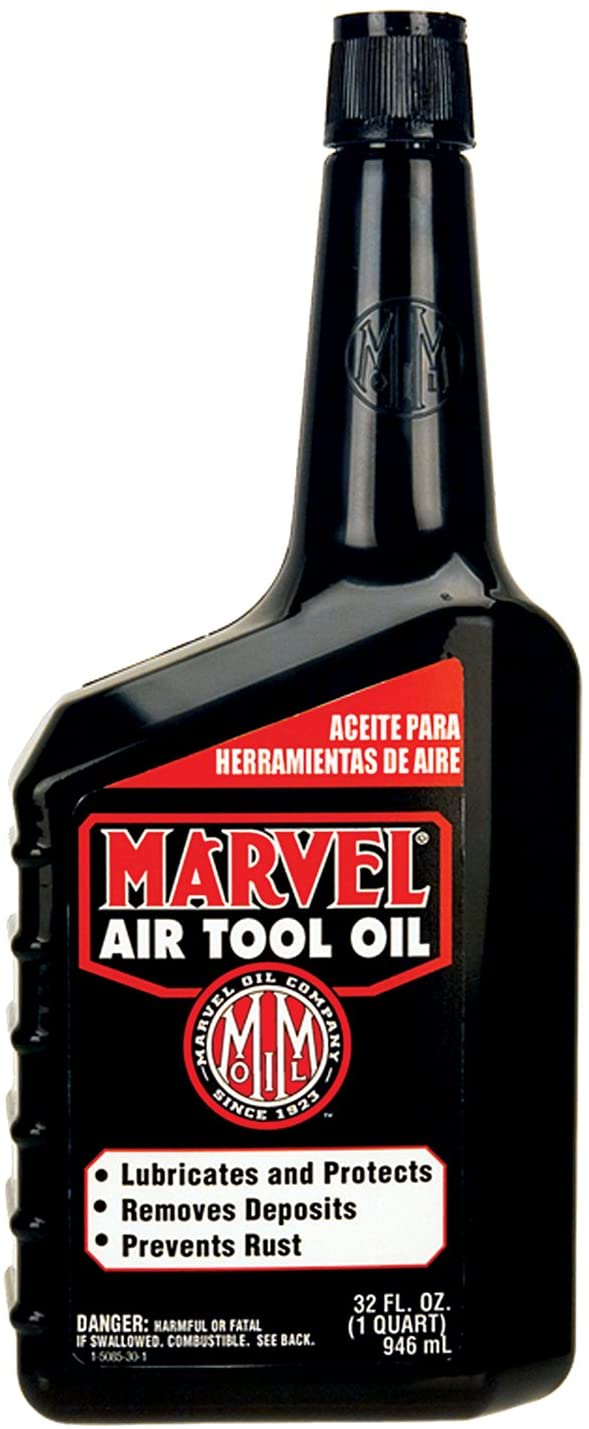 MM85R1 MARVEL AIR TOOL OIL (12 QUARTS/1 CASE)