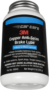 08945 COPPER ANTI-SEIZE BRAKE LUBE 9 Oz. 6/1 CASE