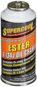 Supercool 16600 A/c 134a Charge and Ester Lube 3 Oz