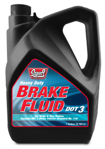 SUS32 SUPER S DOT 3 BRAKE FLUID 3/1 GALLON