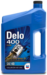 CHEVRON DELO 400 SAE 40W 3CASES/ 1 GALLON
