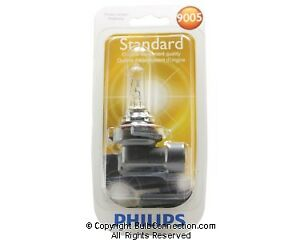 PHILIPS BULBS BLISTER SINGLE 9005 B1 10/BOX