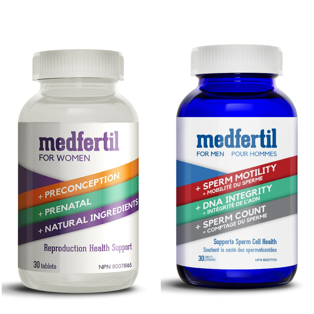 Medfertil for Men and Women Combo Package / One Month Supply