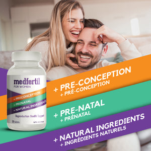 MedFertil for Women / 30 tablets / One Month Supply