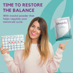 Ovofolic Dietary Supplement for Female Reproductive Health / 60 sachets / One Month Supply