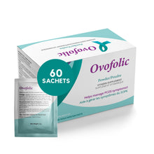 Load image into Gallery viewer, Ovofolic Dietary Supplement for Female Reproductive Health / 60 sachets / One Month Supply