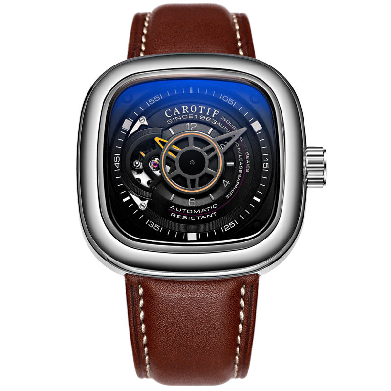 NEW 2020: Abyll & Co Exclusive Mens SQUARIX Mechanical Watch
