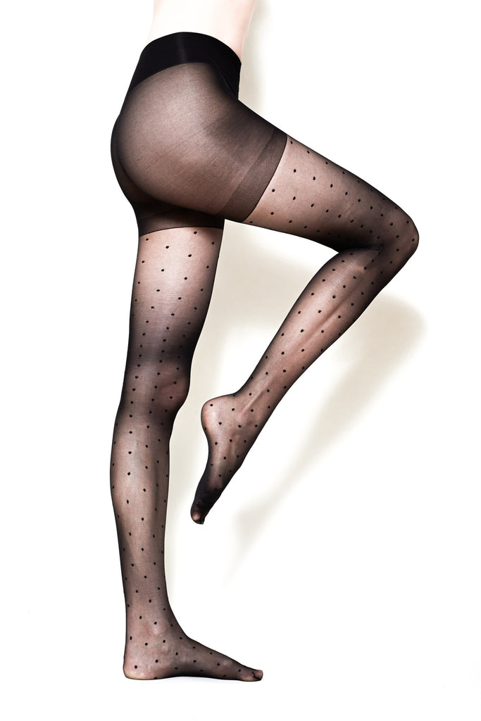 Not Too Tights - Polka Dot Tights