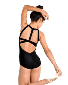DanzNMotion Adult Harness Back Tank Leotard