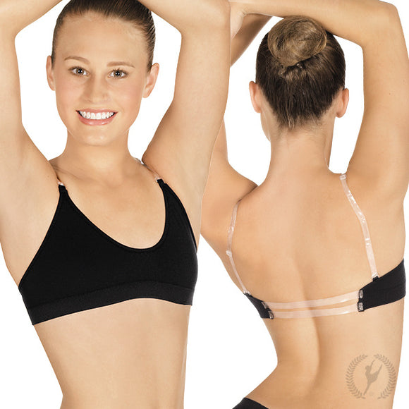 Euroskins Clear Back Bra