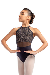 So Danca Child Mesh Overlay Camisole Leotard