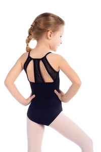 So Danca Child Camisole Mesh Back Leotard